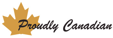 Proudly Canadian logo