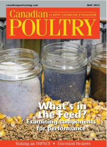 canadian poultry cover image -  may 2015